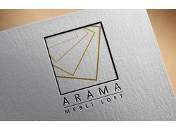 Логотип для студии 3D-визуализации интерьера