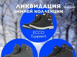 Реклама зимней обуви ECCO в фейсбук.