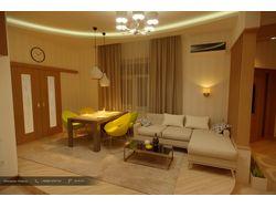 Дизайн гостевой зоны 44.4 кв.м
