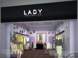 Дизайн магазина одежды в ТЦ