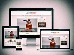 [WordPress] Наполнение сайта Aboutbody.ru