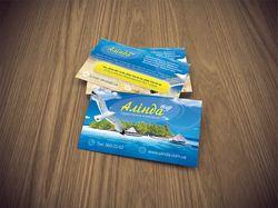 Дизайн визиток (Алинда)