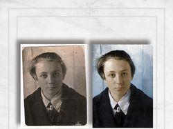 Реставрация фотогорафий