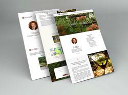 Cайт-визитка студии ландшафтного дизайна