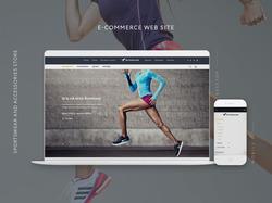 Intension Sportswear and Accessories e-commerce