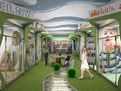 проект детского этажа в ТК