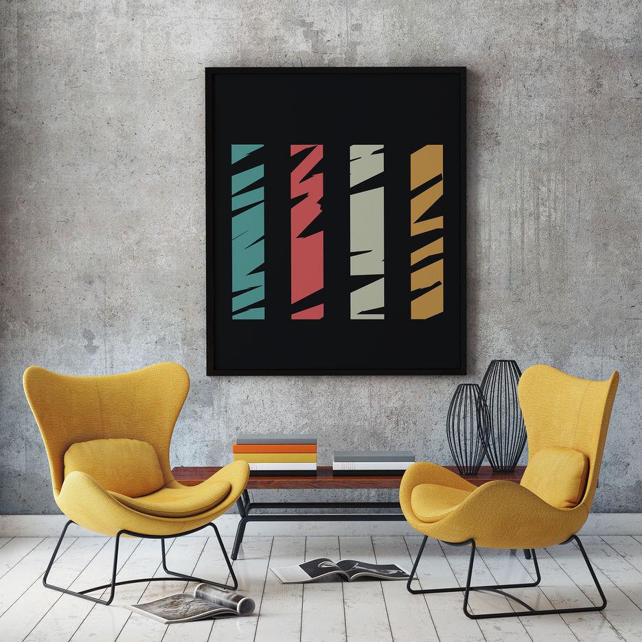 Стильные постеры для интерьера