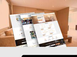 Дизайн сайта для стеновых панелей