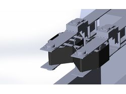 Модель конвейера для книжного станка