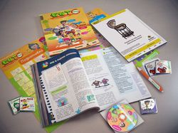 Визуализация учебного комплекта и сувенирки