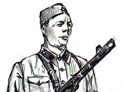 Портрет бойца