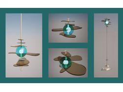 Разработка дизайна фонарей и светильников.