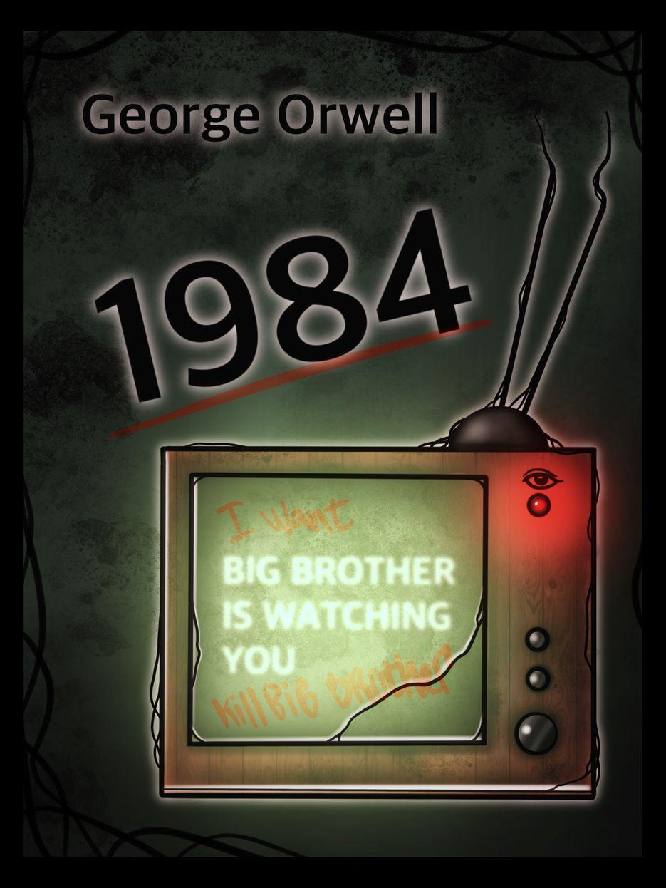 "Фан-иллюстрация к книге Джорджа Оруэлла ""1984"""