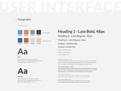UI-kit (светлая гамма)