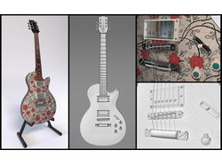 Custom-гитара Candy Store Wild Rose HH