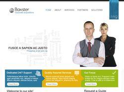 Baxter - корпоративный сайт
