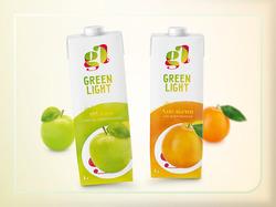 Дизайн логотипа и упаковки соков тетрапак
