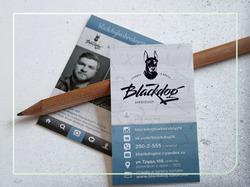 Дизайн визиток барбершопа