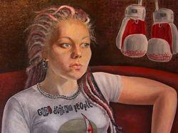 Портрет Елизаветы Сиртокиной