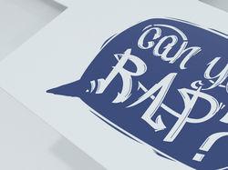 Лого для рэп выступления