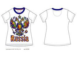 макет футболки