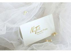 Логотип для свадебного и семейного фотографа