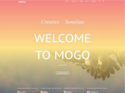 """Адаптивная верстка """"MoGo"""" // HTML, CSS, Bootstrap"""
