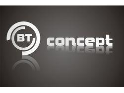 Логотип компании BT Concept