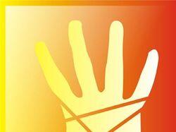 Просто рука. Два цветовых решения