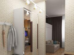 Визуализация квартиры - студии