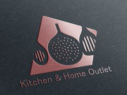 Дизайн логотипа (тематика кухонных принадлежности)