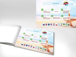 Дизайн презентации для детского отдыха