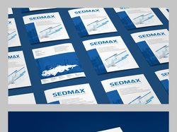Буклет для компании SEDMAX