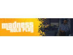 Баннер для проекта Madness RP