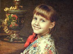 Художественная обработка детских фотографий.