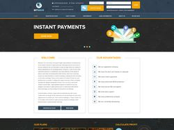 Верстка главной страницы сайта.