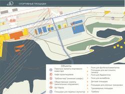 Эскизный проект Спортивной зоны набережной