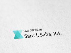 Логотип Sara j. Saba, P.A.
