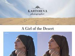 A Girl of the Desert