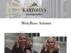 MistyRose Autumn