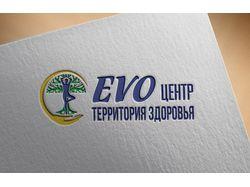"""Разраб. концепции логотипа для мед. центра """"EVO"""""""
