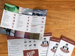 Буклет А4 для компании «Кирпичников»