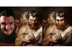 """Два сатира""   Peter_Paul_Rubens"