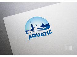 Логотип для школы плавания