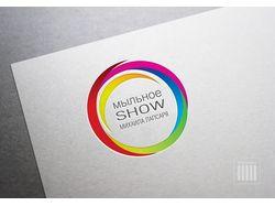 Логотип для шоу мыльных пузырей