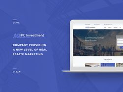 Estate marketing Web Site Concept