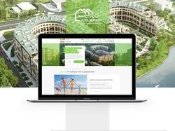 Сайт для компании «Квартиры для жизни»