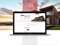 Сайт для студии Архитектуры и Дизайна