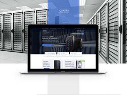 Разработка главной страницы для компании «SQUADRA»