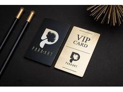 """VIP-карта для кальян-бара """"Para Art"""", Dubai"""